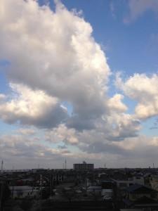 2013.3.11 朝の空