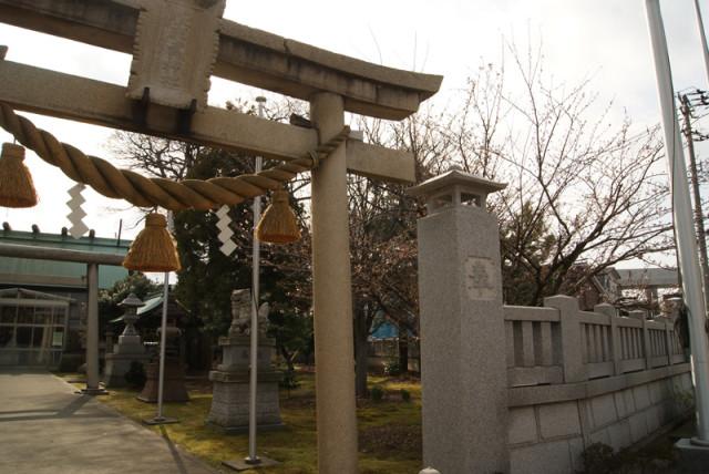 御経塚 佐那武神社