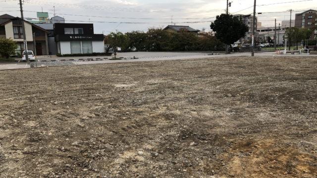 元「パティスリー・ラ・ナチュール」建物解体の様子 2018年10月10日(水)