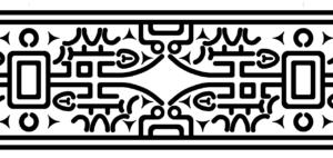 御経塚遺跡出土土器の文様(デザイン)2