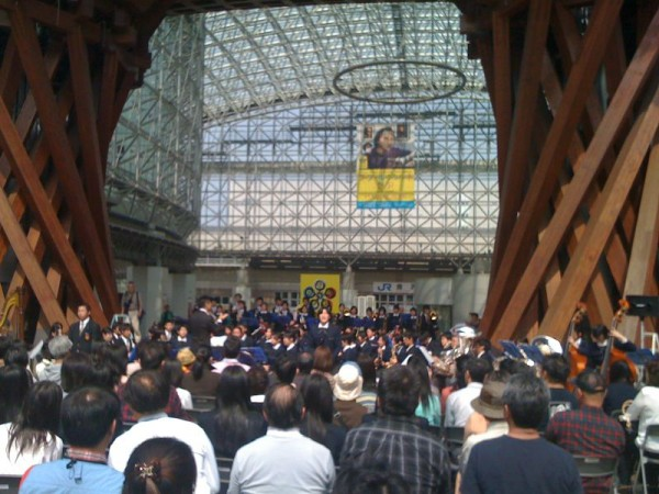 2010年のラ・フォル・ジュルネ金沢 金沢駅前鼓門広場