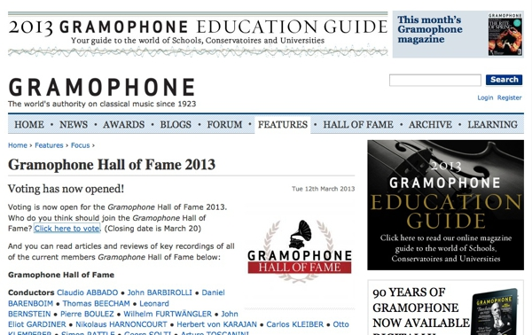 http://www.gramophone.co.uk/