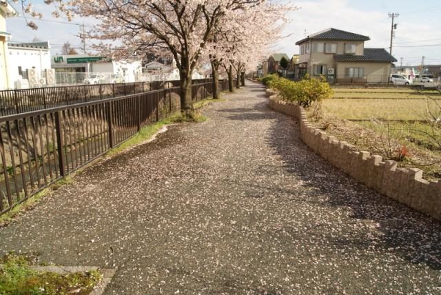 御経塚 馬場川緑道