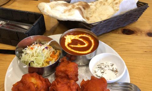 インド料理カジャーナ 唐揚げランチ