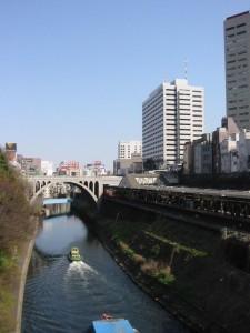 御茶ノ水橋から聖橋を望む 2006年4月3日