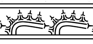 御経塚遺跡出土土器の文様(デザイン) 1